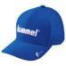 hummel-SPORTS20SSベーシックキャップ 青