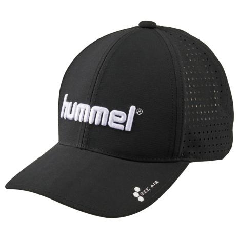 hummel-SPORTS20SSベーシックキャップ 黒