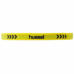 hummel-SPORTSワイドヘアゴム 黄色×黒