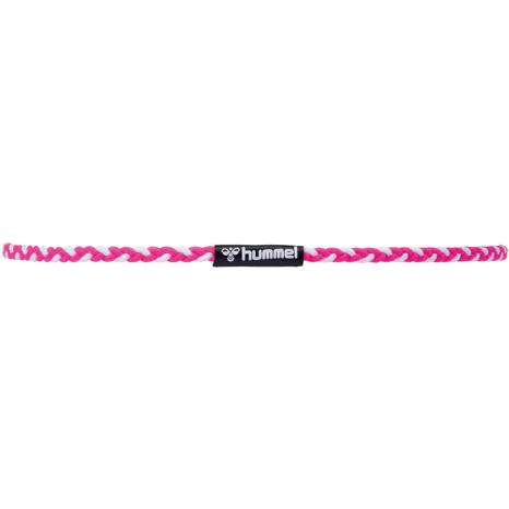 hummel-SPORTS21SS三つ編みヘアゴム 桃色