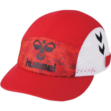 hummel-SPORTS21SSPRIAMOREフットボールキャップ 赤