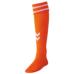 hummel-SPORTSジュニアゲームストッキング 橙色×白