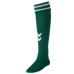 hummel-SPORTSジュニアゲームストッキング 緑×白