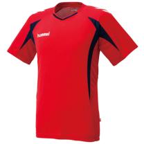 hummel-SPORTSジュニアプラクティスシャツ 赤