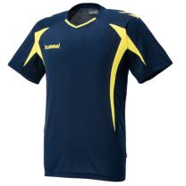 hummel-SPORTSジュニアプラクティスシャツ 紺色