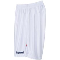 hummel-SPORTSジュニアプラクティスパンツ 白×紺色