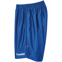 hummel-SPORTSジュニアプラクティスパンツ 青×白