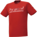 hummel-SPORTS21SSジュニアプラクティスTシャツ 赤
