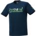 hummel-SPORTS21SSジュニアプラクティスTシャツ 紺色