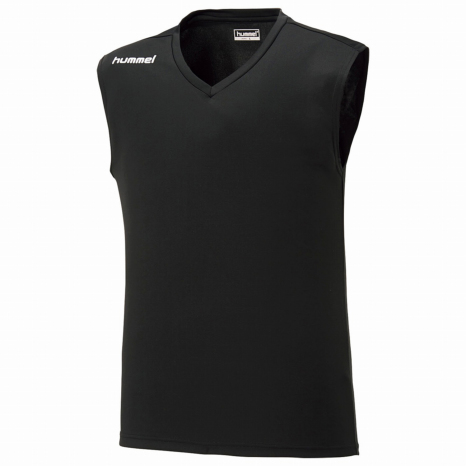 hummel-SPORTS21SSジュニアノースリーブインナーシャツ 黒