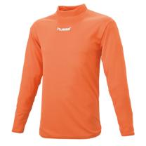 hummel-SPORTSジュニアハイネックインナーシャツ 橙色