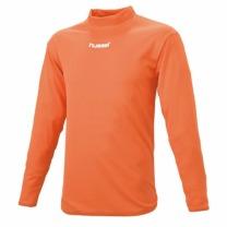 hummel-SPORTSジュニアハイネックインナーシャツ オレンジ