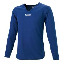 hummel-SPORTSジュニアL/Sインナーシャツ 紺色