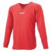 hummel-SPORTSジュニアL/Sインナーシャツ 赤