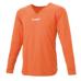 hummel-SPORTSジュニアL/Sインナーシャツ 橙色