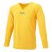 hummel-SPORTSジュニアL/Sインナーシャツ 黄色