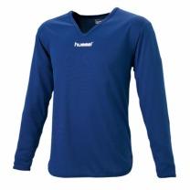 hummel-SPORTSジュニアL/Sインナーシャツ ネイビー