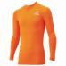 hummel-SPORTS21SSジュニアフィットインナーシャツ 橙色