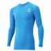 hummel-SPORTS21SSジュニアフィットインナーシャツ 青