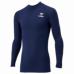 hummel-SPORTS21SSジュニアフィットインナーシャツ 紺色