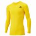 hummel-SPORTS21SSジュニアフィットインナーシャツ 黄色