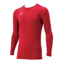 hummel SPORTShummel SPORTSジュニアあったか丸首インナーシャツ 赤