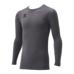 hummel SPORTShummel SPORTSジュニアあったか丸首インナーシャツ 灰色