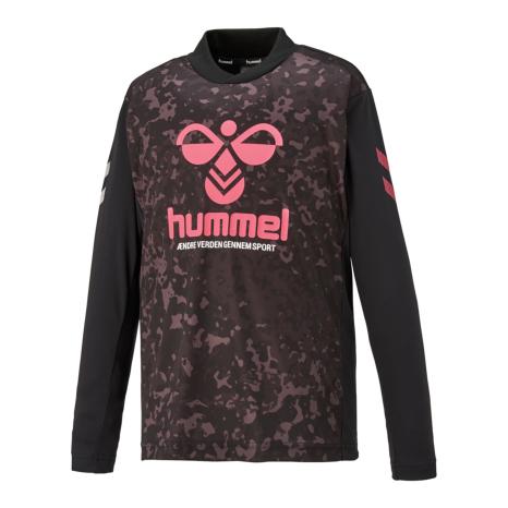 hummel-SPORTSプリアモーL/Sプラクティスシャツ 黒