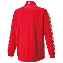 hummel-SPORTSジュニアウォームアップジャケット レッド