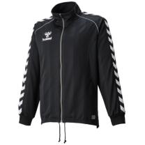 hummel-SPORTSジュニアウォームアップジャケット ブラック