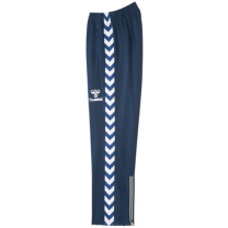 hummel-SPORTSジュニアウォームアップパンツ 紺色