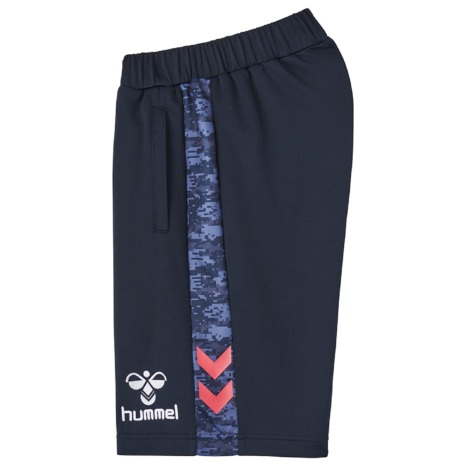 hummel21SSPRIAMOREハーフパンツ 紺色