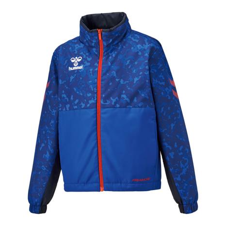 hummel SPORTS21AWプリアモーレウインドブレーカージャケット 青