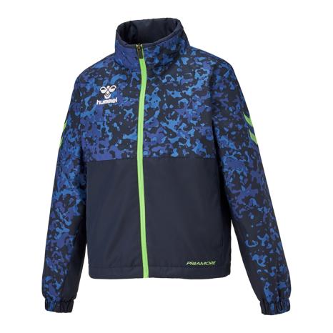 hummel SPORTS21AWプリアモーレウインドブレーカージャケット 藍色