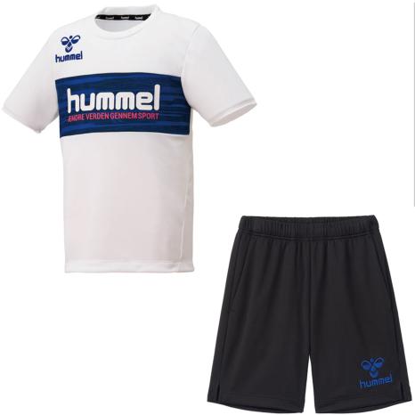 hummel-SPORTS21SSジュニアプラクティススーツ 白