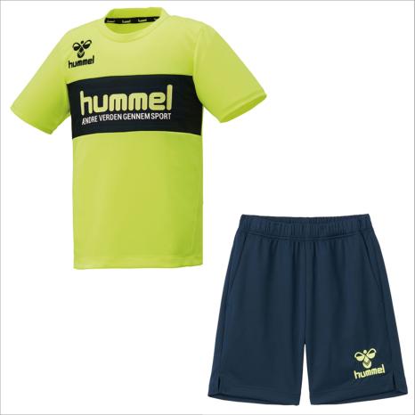 hummel-SPORTS21SSジュニアプラクティススーツ 黄色