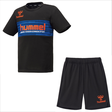 hummel-SPORTS21SSジュニアプラクティススーツ 黒