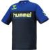 hummel-SPORTS21SSジュニアドライ Tシャツ 紺色