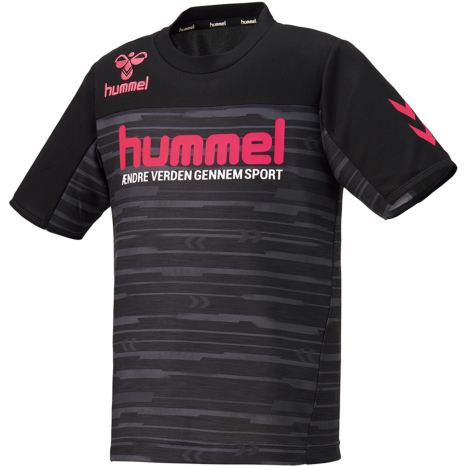 hummel-SPORTS21SSジュニアドライ Tシャツ 黒