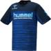 hummel-SPORTS21SSジュニアドライ Tシャツ 青