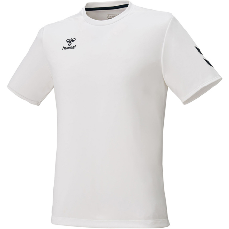 hummel-SPORTS21SSジュニアBASICTシャツ 白
