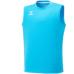 hummel-SPORTS21SSジュニアBASICノースリーブシャツ 青