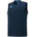 hummel-SPORTS21SSジュニアBASICノースリーブシャツ 紺色
