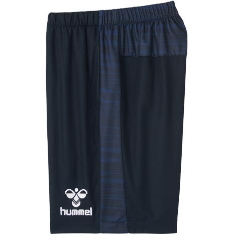 hummel-SPORTS21SSジュニアドライハーフパンツ 紺色