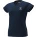 hummel-SPORTS21SSWSロゴTシャツ 紺色