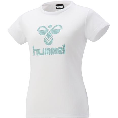 hummel-SPORTS21SSWS半袖Tシャツ 白