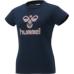 hummel-SPORTS21SSWS半袖Tシャツ 紺色