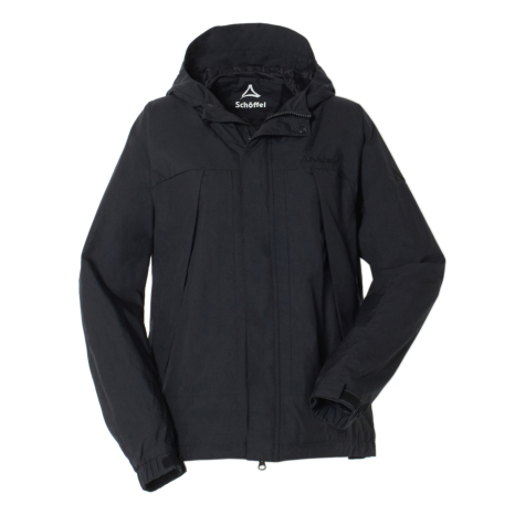 Schoffel (ショッフェル) WINDSHELL HOODIE EP WOM/BLACK(Ladys)