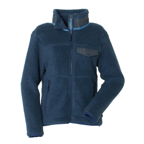 Schoffel (ショッフェル) SHERPA FLEECE JACKET/MIX NAVY(Ladys)