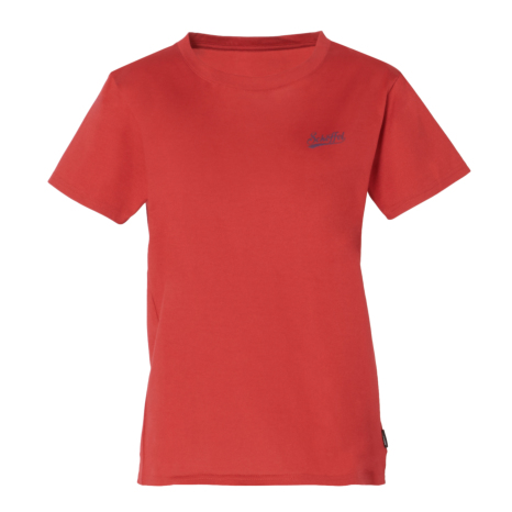 Schoffel (ショッフェル)UV COTTON T-SHIRT CAMP/RED